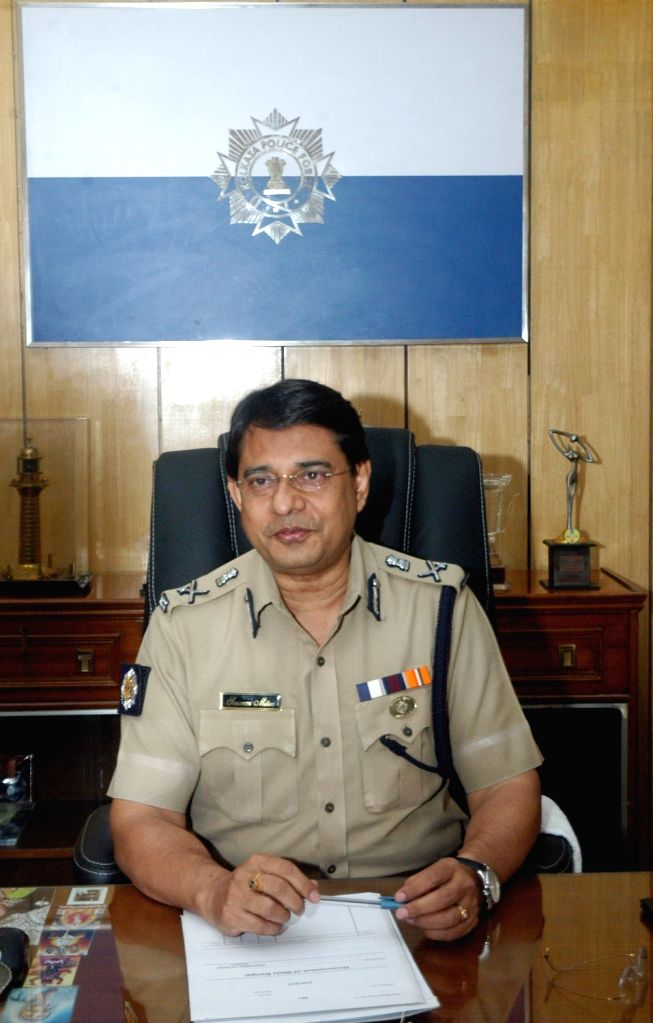 The newly appointed Commissioner of Police Soumen Mitra talks to press at Lalbazar in Kolkata, on April 13, 2016.