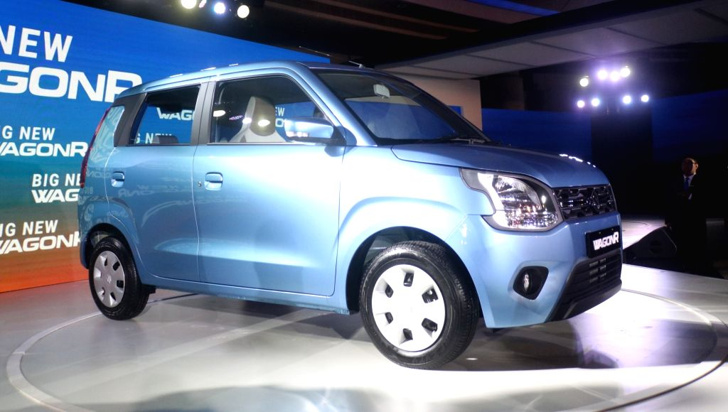 The newly launched Big New WagonR in New Delhi, on Jan 23, 2019.
