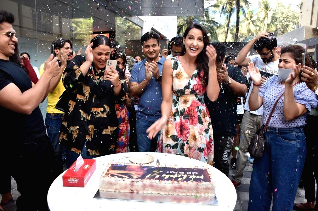 """The Nora Fatehi dance number """"Dilbar"""" has touched the one billion mark on YouTube, making her the first African Arab female artiste to achieve the feat. The superhit dance number features in the 2018 film """"Satyamev Jayate"""". (Instagram)"""
