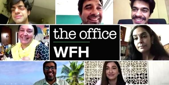 'The Office' cast reunites for 'work from home' episode.