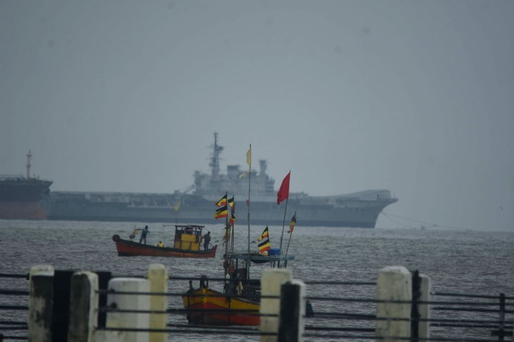 The once majestic and imposing Indian Navy's aircraft carrier INS Viraatnow decommissionedstarted on its swansong voyage to Alang port in Gujarat, the country's biggest graveyard for ...
