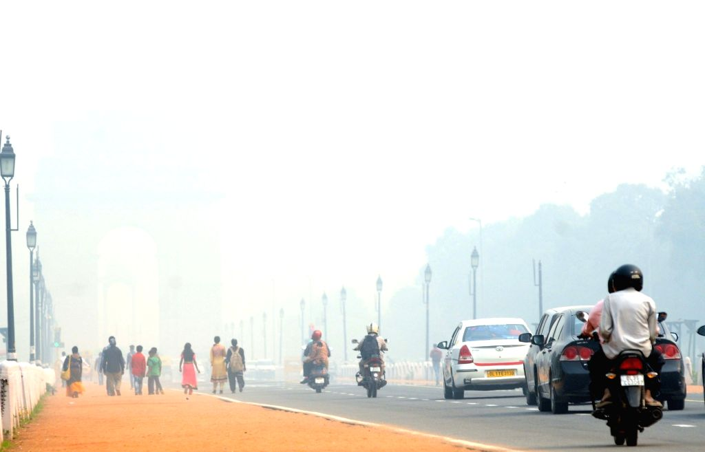 The overall air quality of Delhi improved to the 'moderate' category on Thursday after being in the 'poor' and 'very poor' category for days, due to rains and high wind. (File Photo: IANS)