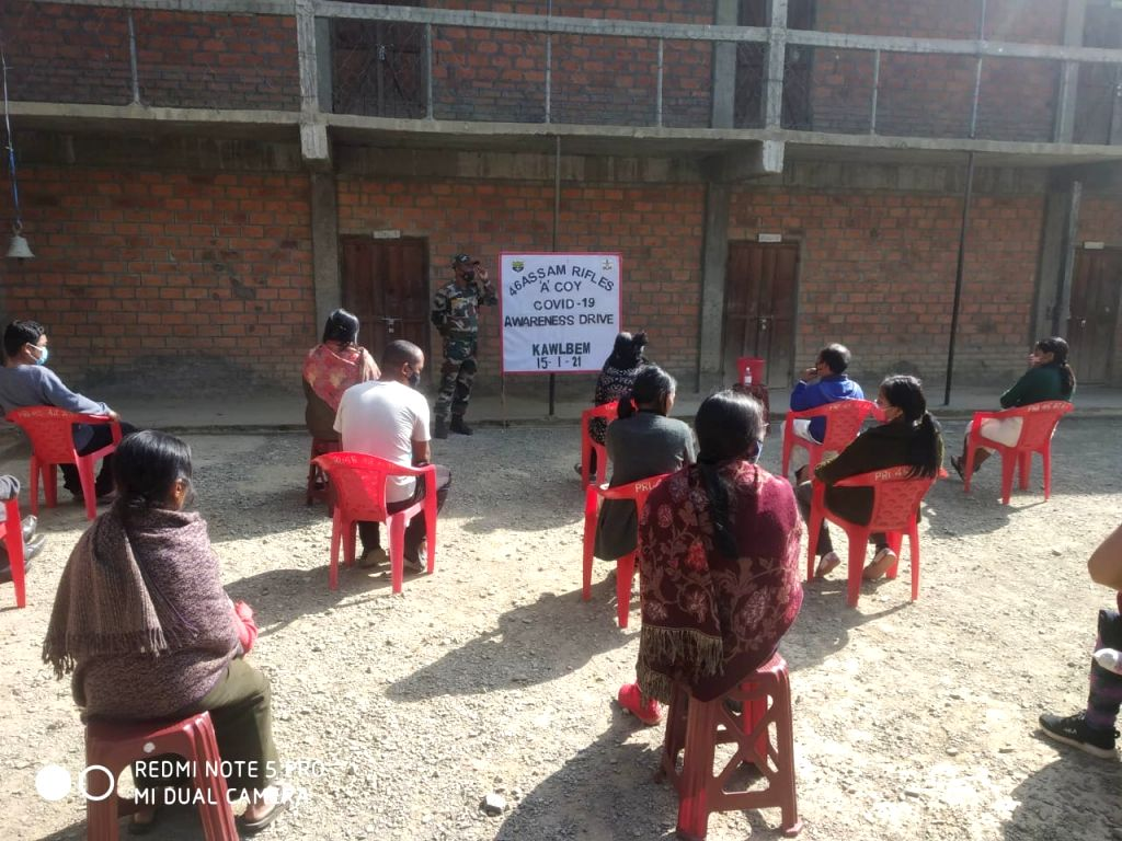 The personnel of the Indian Army and Assam Rifles, besides providing security cover to the country and its people, are also actively lending their support to the fight against the dreaded Covid-19 ...