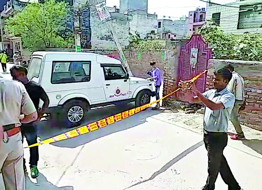 The place where three Nigerians were found dead in a rented accommodation in west Delhi on June 1, 2018. Two of the dead, Christopher David, 36, and Greece Ben, 33, lived in different ...