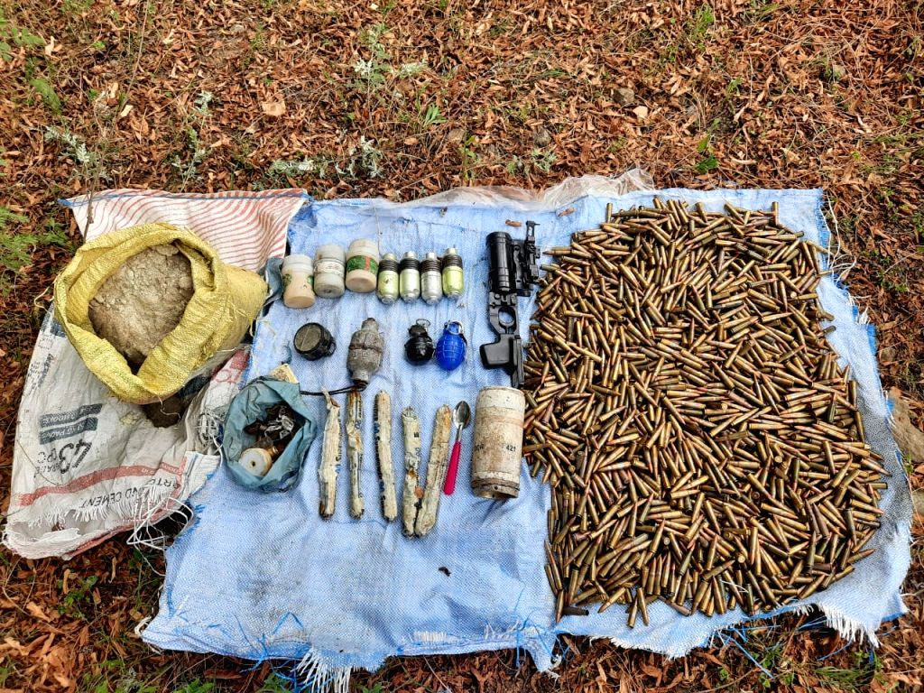 The police busted two hideouts of the proscribed terrorist outfit Lashkar-e-Taiba and recovered a large quantity of arms and ammunition in South Kashmir's Pulwama district on Aug 13, 2020. ...