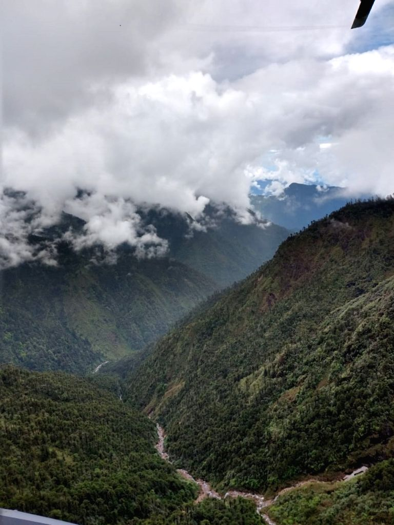 The presence of clouds associated with rains hamper a search operation to retrieve the mortal remains of six of the 13 persons killed in the AN-32 aircraft crash in Arunachal Pradesh on June 3; ... - Ratnakar Singh