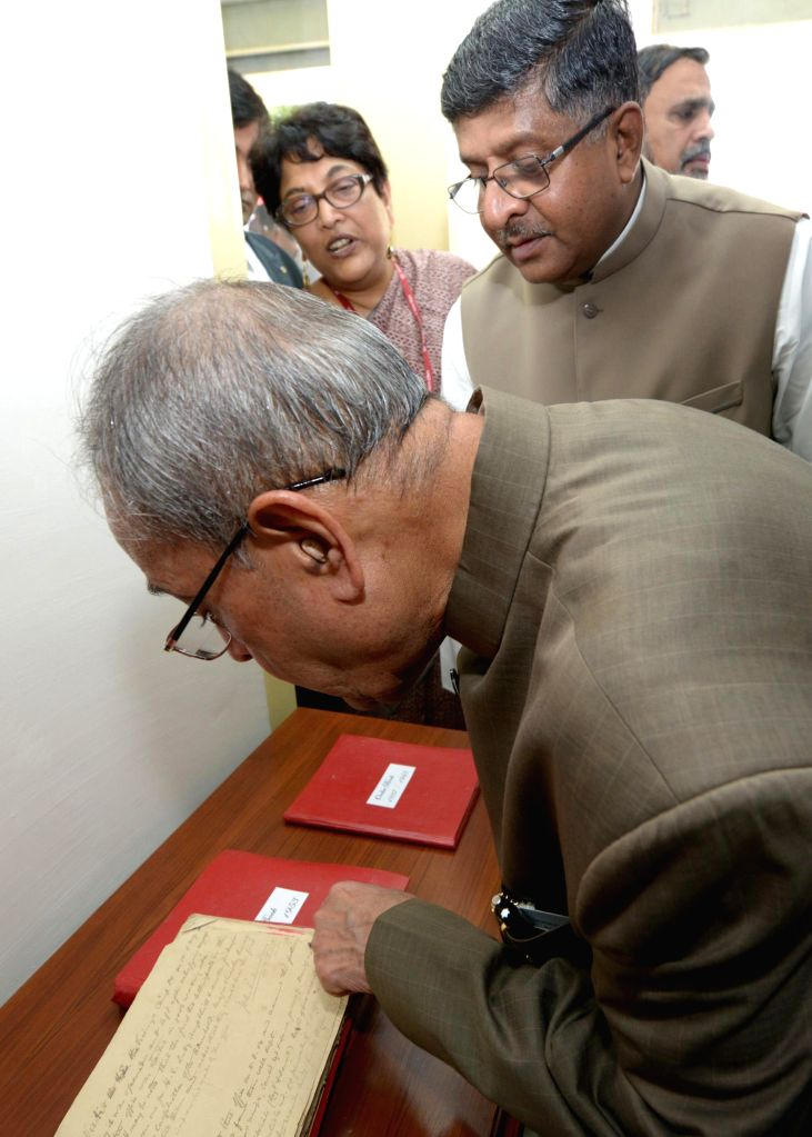 The President of India, Shri Pranab Mukherjee, inaugurating the new building of Rashtrapati Bhavan Post Office at Schedule–B, President`s Estate on July 24, 2014. - Shri Pranab Mukherjee