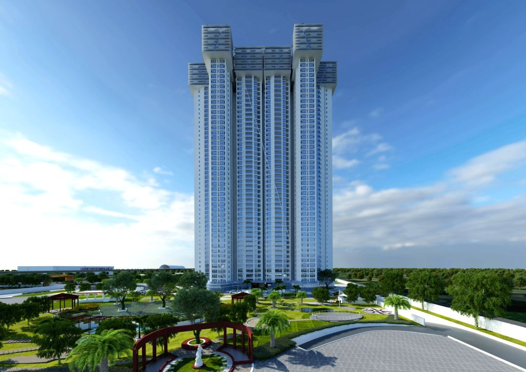 """The Presidential Tower"""" 1st project of Golden Gate and CNTC in Bengaluru on July 1, 2017."""