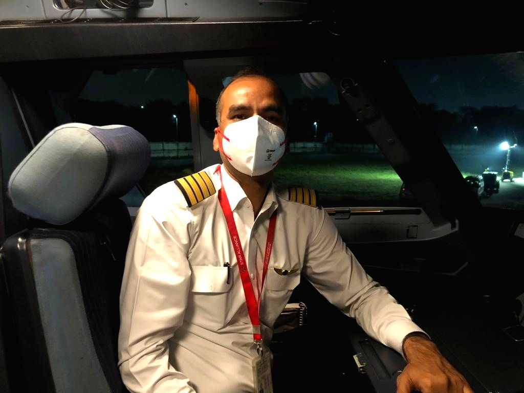 The pride of being the flight commander of stranded Indians in Iran will be for lifetime: Captain Shyam. - Shyam