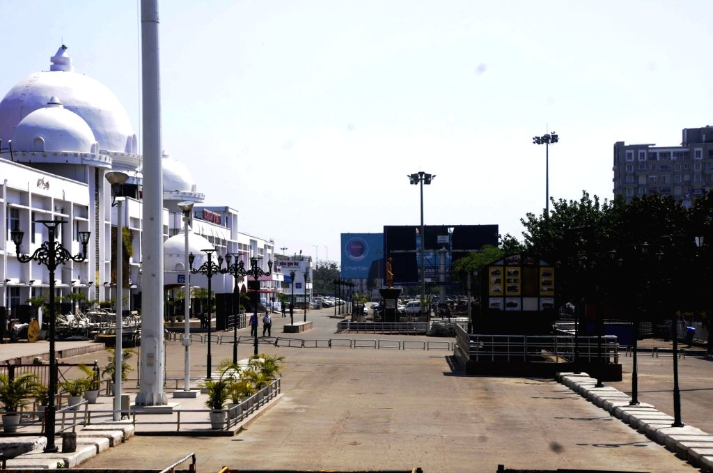 The Rajendra Nagar Terminal bears a deserted look on Day 2 of the 21-day nationwide lockdown imposed by the Narendra Modi government over the coronavirus pandemic; in Patna on March 26, 2020. - Narendra Modi