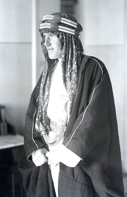 The real life T.E. Lawrence