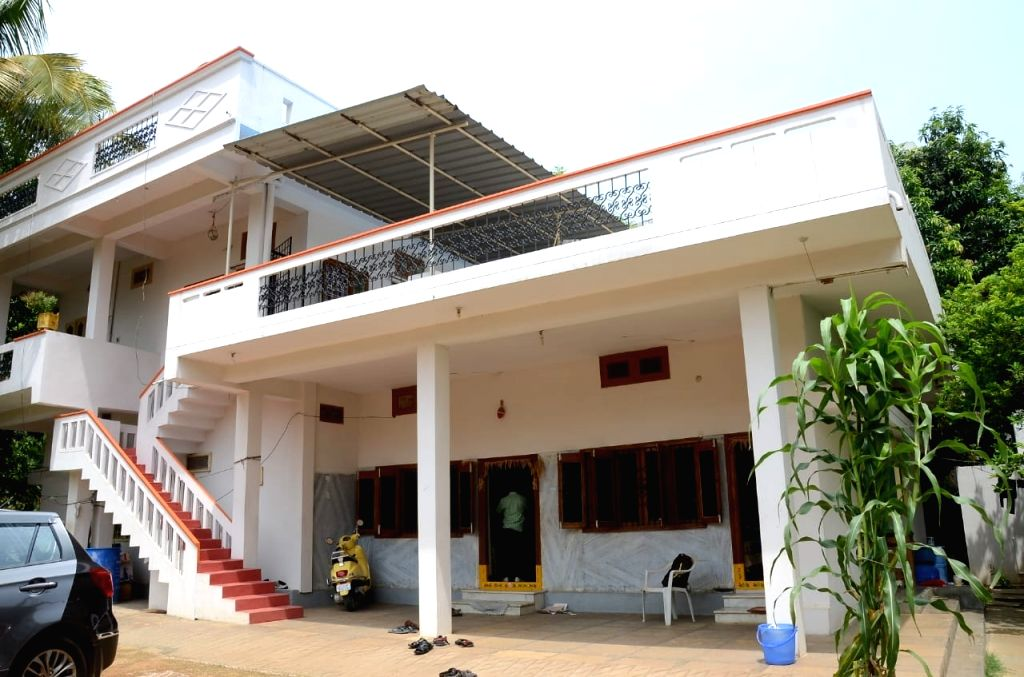 The residence of Sports Deputy Director Venkataramana that was raided by Anti-Corruption Bureau (ACB) in Ramanthapur, Telangana on June 6, 2018.