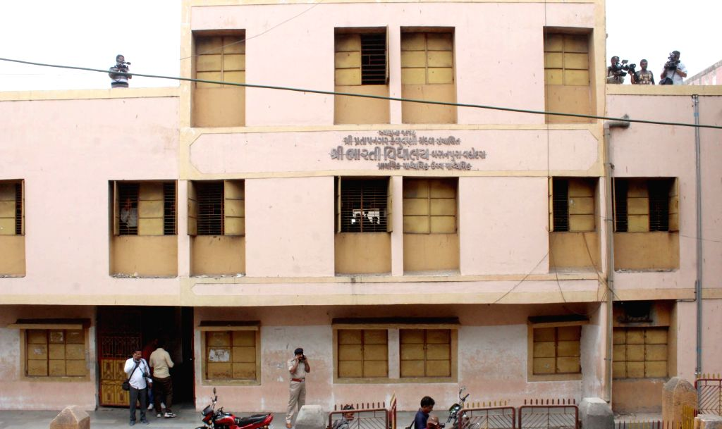 The school in which a Class 9 student was stabbed to death allegedly by a senior over a dispute in Gujarat's Vadodara city on June 22, 2018.