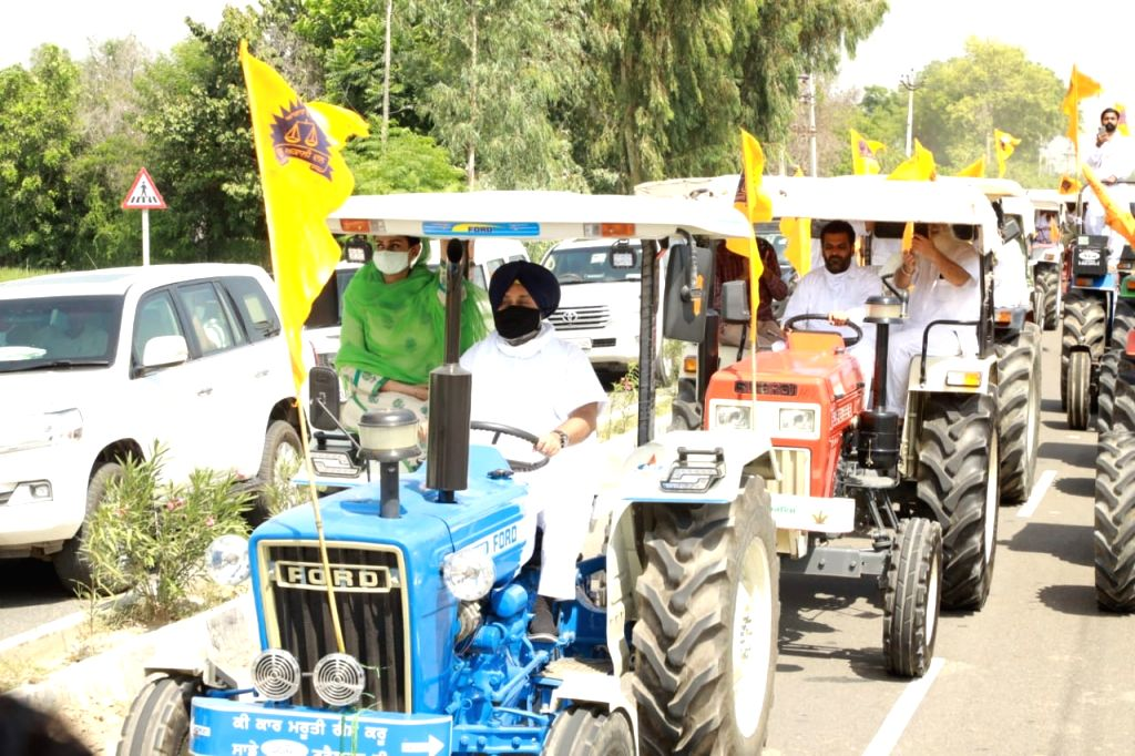 The Shiromani Akali Dal (SAD) held large protests across Punjab as part of its ???chakka jam??? programme to express solidarity with farmers even as it asked Chief Minister Capt Amarinder ... - Capt Amarinder Singh