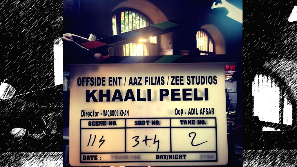 "The shooting for first-time director Maqbool Khan's ""Khaali Peeli"" starring Ishaan Khatter and Ananya Panday has begun. - Maqbool Khan"