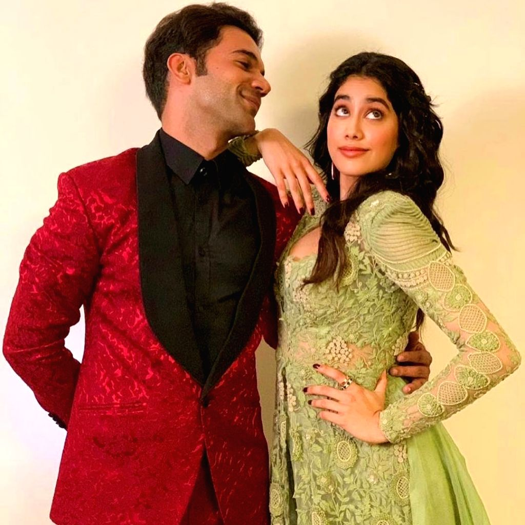 "The shooting of Rajkummar Rao and Janhvi Kapoor starrer ""RoohiAfza"" has commenced. A post from the official Twitter account of Maddock Films read: ""Karne aa rahe hai attention ko ... - Rajkummar Rao and Janhvi Kapoor"