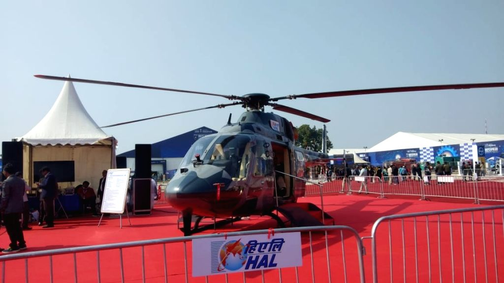 The single engine Light Utility Helicopter (LUH) got wings at Defexpo-2020 on Friday after Chairman Defence Research and Development Organisation's initial operational clearance to Hindustan Aeronautics Limited for its production.