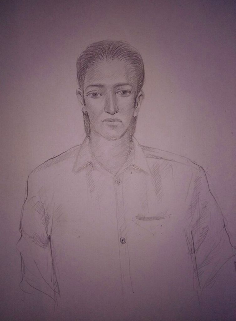 The sketch of one of the suspected masked persons who were sighted in Maharashtra's Uran village released by Maharashtra Police on Sept 23, 2016.
