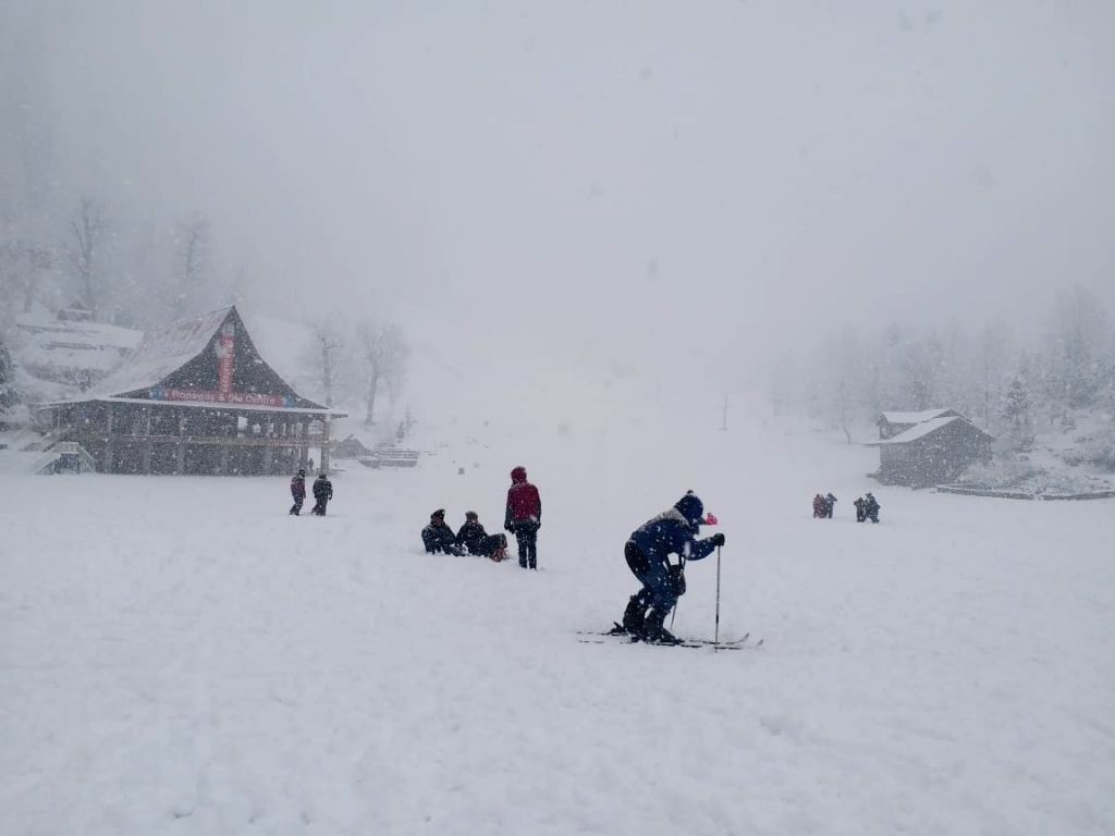 The Solang ski slopes near Manali wrapped in a thick blanket of snow, bringing cheers on the faces of skiers after the picturesque tourist spot in Himachal Pradesh experienced this season's ...