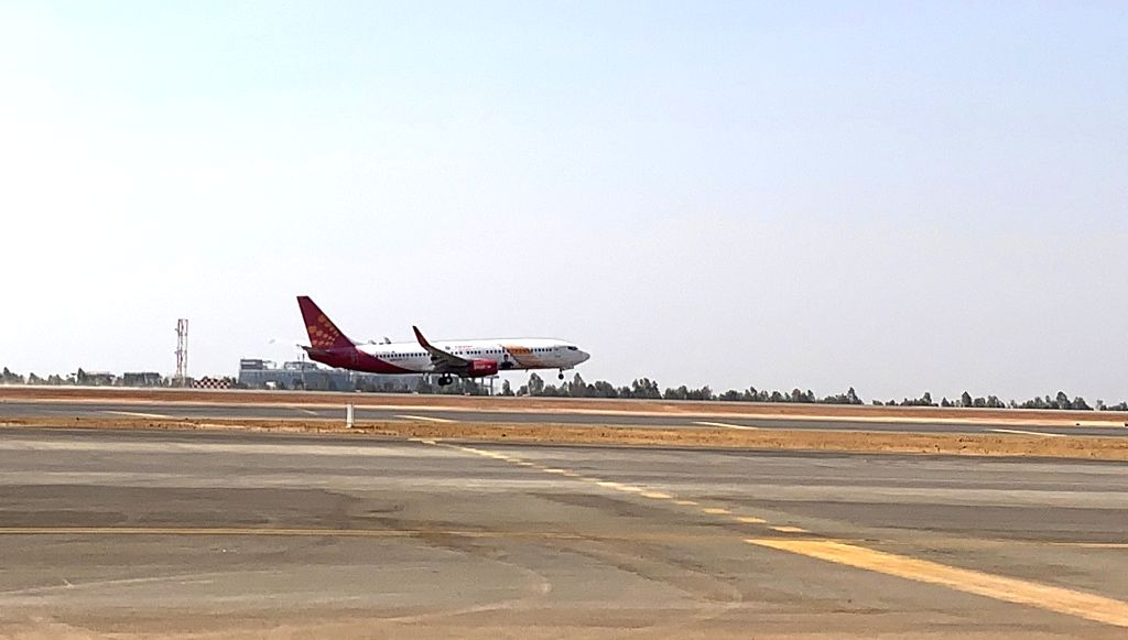 The South Runway marked its first landing with the arrival of SpiceJet flight SG497 with all regulatory clearances, the South Runway is now equipped to handle both arrivals and departures. ...
