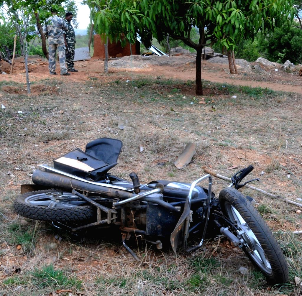 The spot where a wild elephant trampled to death two Central Reserve Police Force (CRPF) personnel at their camp near Bengaluru on May 7, 2017. The incident occurred in the early hours of ...