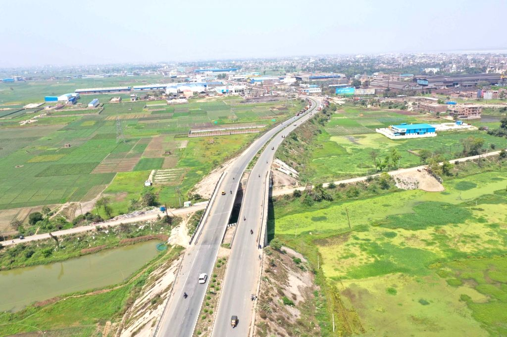 The stretch of National Highway 30 near Gaighat bears a deserted look on Day 5 of the 21-day countrywide lockdown imposed to contain the spread of novel coronavirus, in Patna on March 29, 2020.