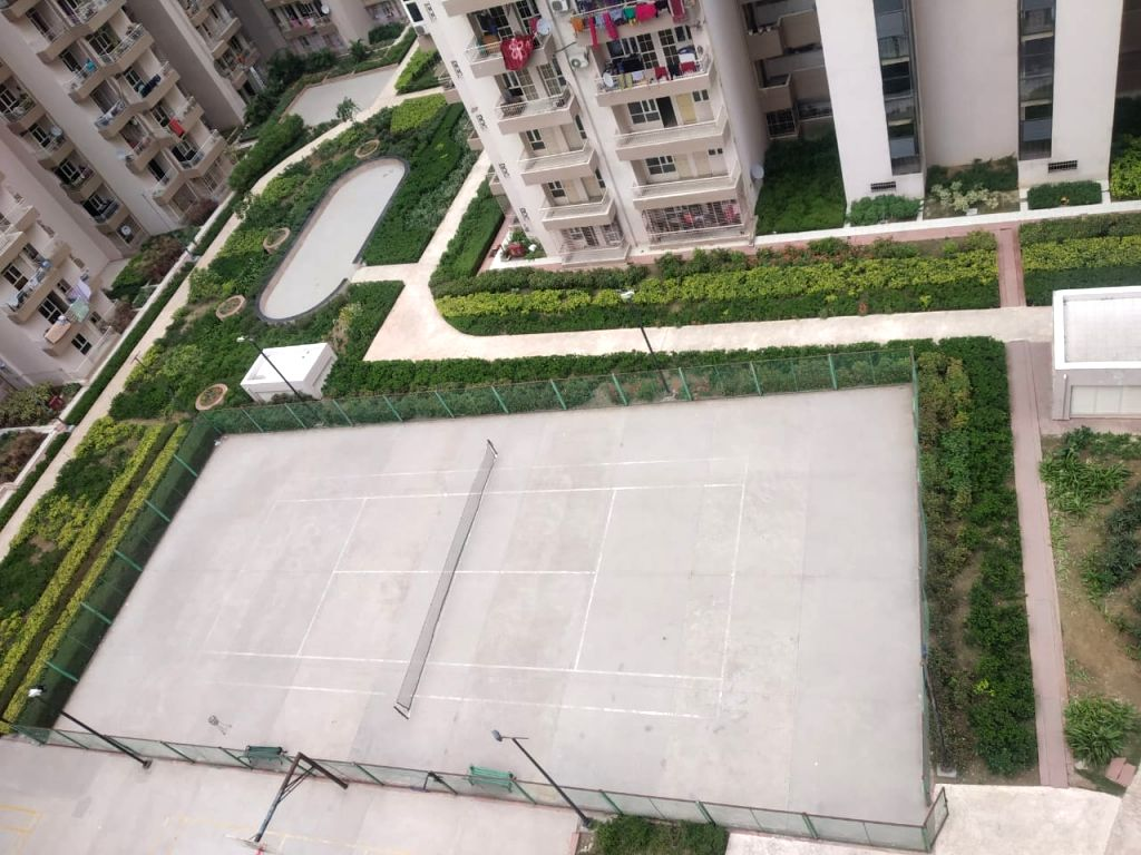 The Supertech Capetown Group Housing sector 74 Noida that was sealed after one of the residents tested positive for COVID-19 infection, on March 21, 2020.