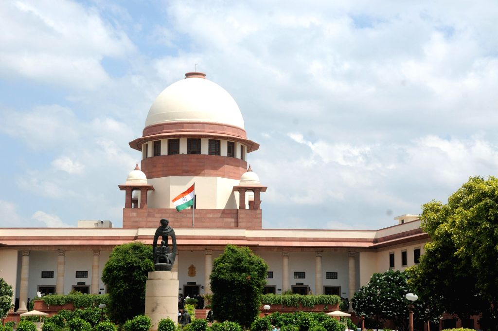 The Supreme Court of India in New Delhi on Sept 1, 2014. The government Monday told the Supreme Court that they stood by its verdict holding allocation of coal blocks since 1993 as illegal, and was ..