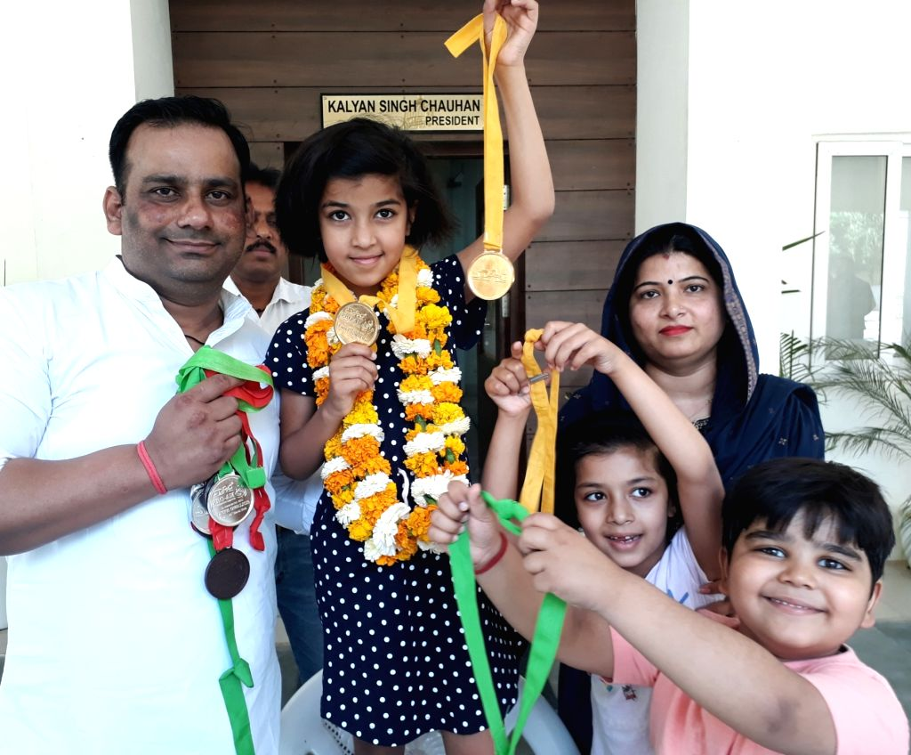 10-year-old bags 10 medals in National Level Gymnastic