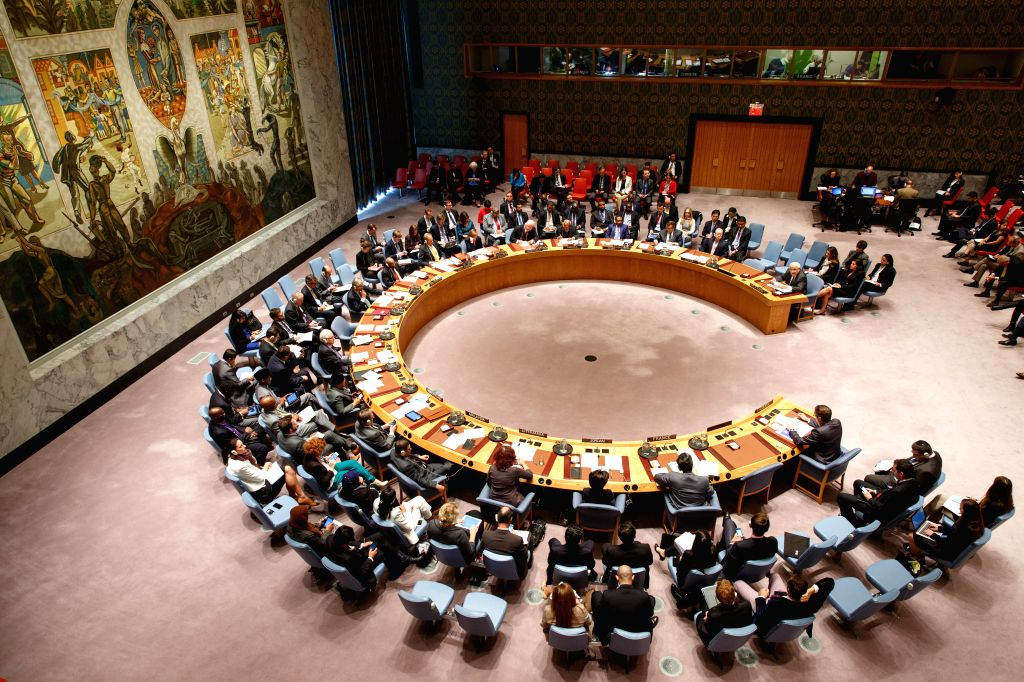 The United Nations Security Council holds an emergency meeting on escalation of tensions in Israel and Palestine at the UN headquarters in New York, Oct. 16, 2015. ...