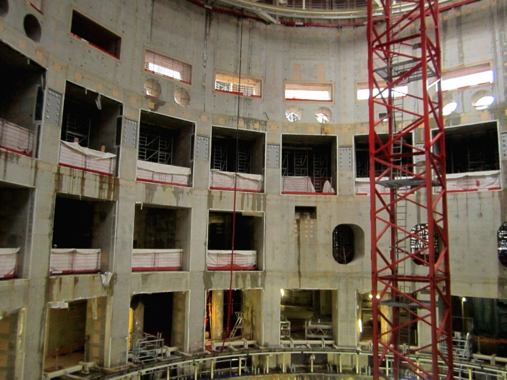 :The upcoming International Thermonuclear Experimental Reactor (ITER), the world's largest fusion reaction research facility in Saint-Paul-les-Durance, some 35 km north of Aix-en-Provence in ...