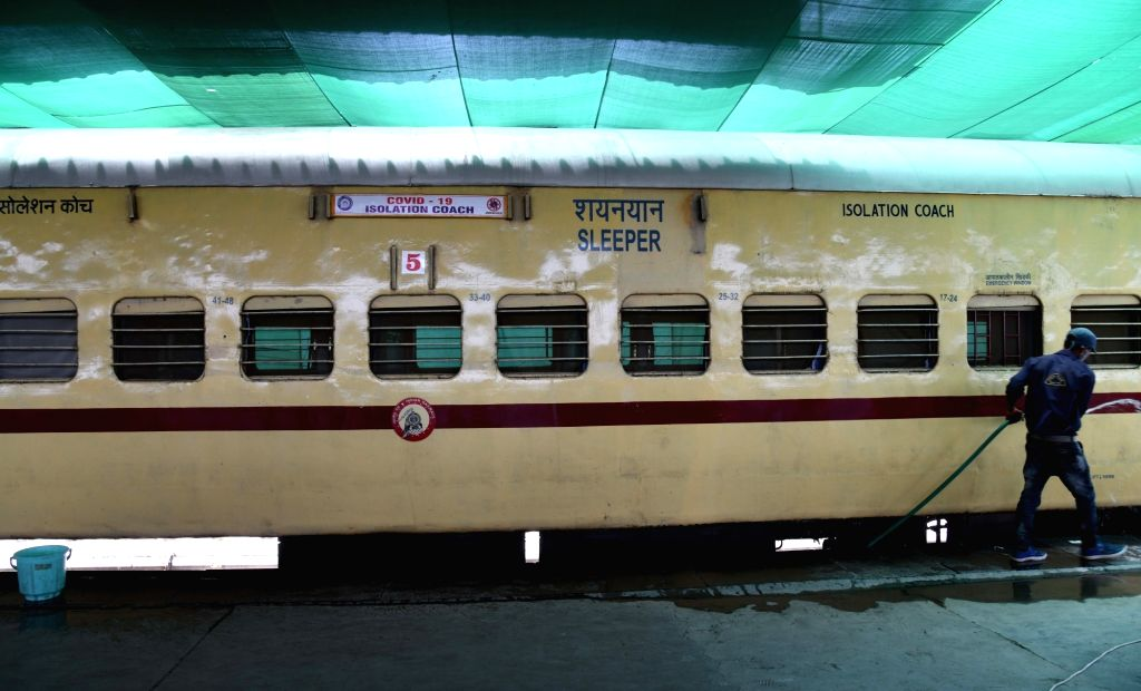The Uttar Pradesh government has started using the COVID-19 railway coaches, prepared by the Railways in the Mau district. So far 59 people, who tested corona positive, have been quarantined in these coaches while eight of them have even been dischar