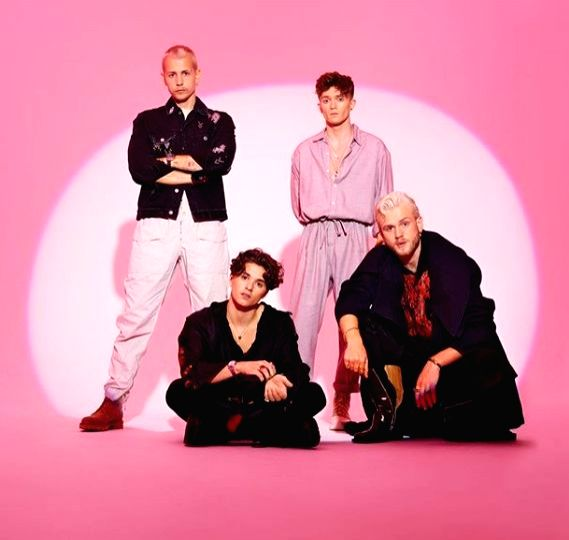 The Vamps unveil new single 'Married In Vegas'.