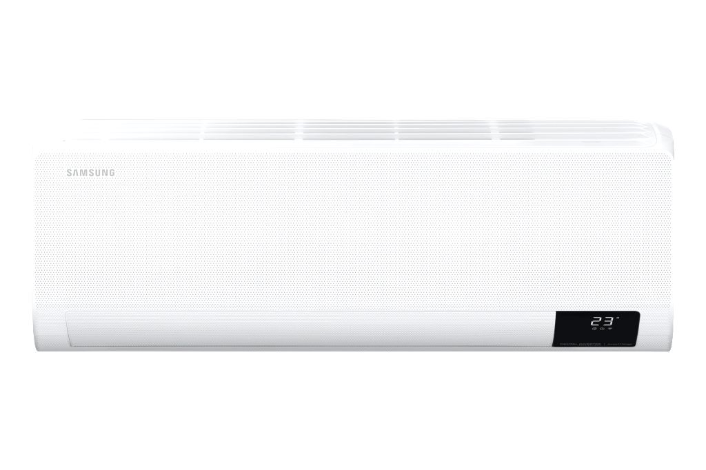 The 'Wind-Free' 2.0 AC uses 23,000 micro-holes to gently spread air evenly throughout the room, maintaining a comfortable level of coolness without any draft.