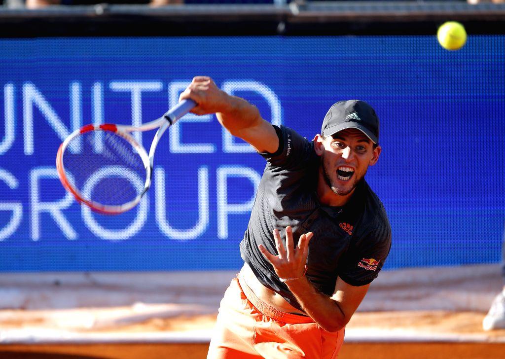 Thiem beats Tsitsipas in ATP Finals opener