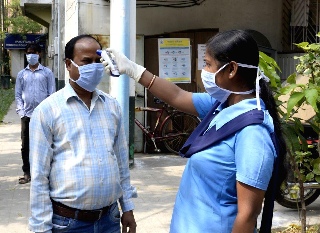 Third COVID-19 case in Bengal. (Photo: Kuntal Chakrabarty/IANS)