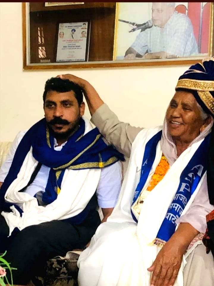 Thirty-six years after Kanshi Ram floated the Bahujan Samaj Party, his sister Sarwan Kaur joined Bhim Army chief Chandrashekhar's newly floated Azad Samaj Party (ASP) in a major blow to the BSP-led ... - Sarwan Kaur