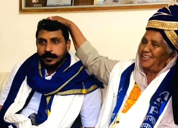 Thirty-six years after Kanshi Ram floated the Bahujan Samaj Party, his sister Sarwan Kaur joined Bhim Army chief Chandrashekhar's newly floated Azad Samaj Party (ASP) in a major blow to the BSP-led by Mayawati. - Sarwan Kaur