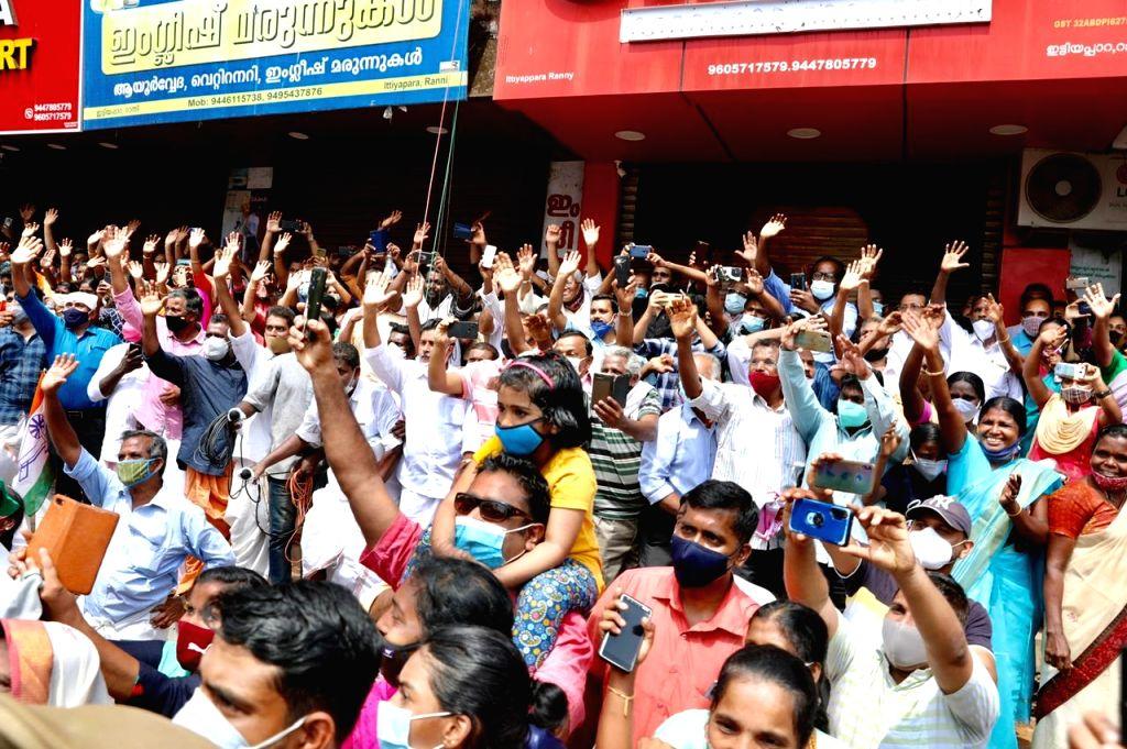 *Thiruvananthapuram* : Will RaGa's presence in Pathanamthitta tilt scales in Cong's favour.(photo:Twitter)