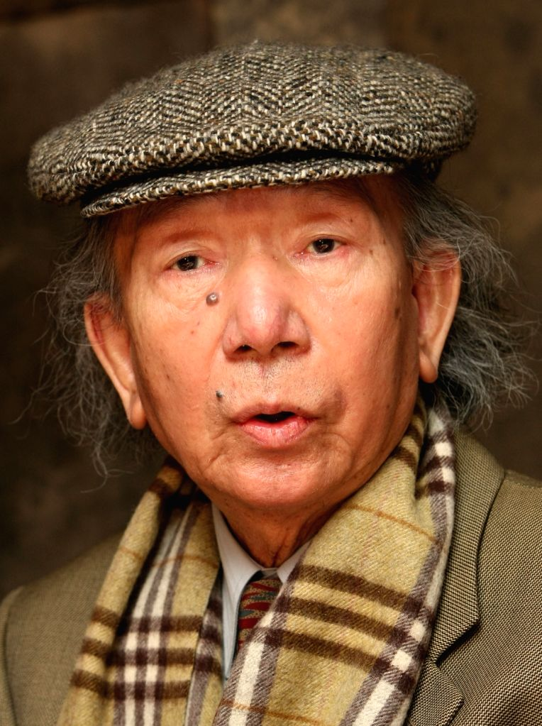 This November 2008 photo shows prominent novelist Choi In-hun attending a press conference in Seoul. Choi died on July 23, 2018, at the age of 84, after a battle with cancer. Choi is best ...