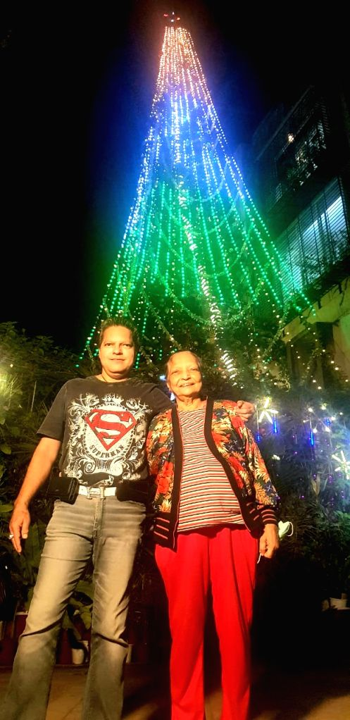 This year, India's tallest natural growing, 55-year-old and 69-foot-tall Christmas tree has become a 'shining beacon of hope' for humanity facing the horrors of the coronavirus pandemic, in memory of ...