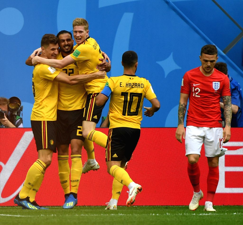 RUSSIA-SAINT PETERSBURG-2018 WORLD CUP-THIRD PLACE-ENGLAND ...