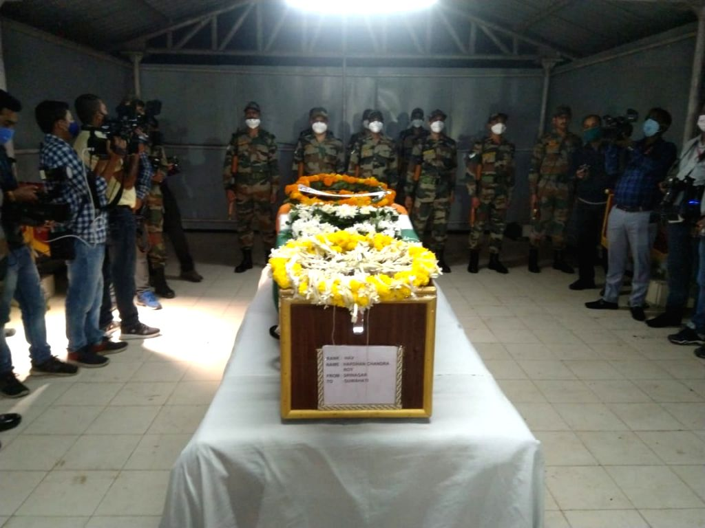 Thousands bid farewell to Assam's braveheart, martyred among 4 soldiers in J&K.