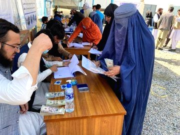 Thousands in Afghanistan receive assistance from UNHCR. (Credit: Twitter)