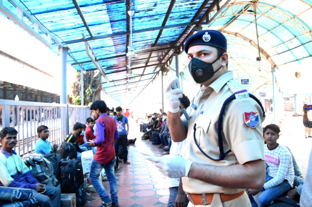 Thousands of migrant workers try to rush home to various states like UP, Bihar, Odisha, Jharkhand, Chhattisgarh, etc, in view of the growing number of coronavirus (Covid-19) cases, and are ...