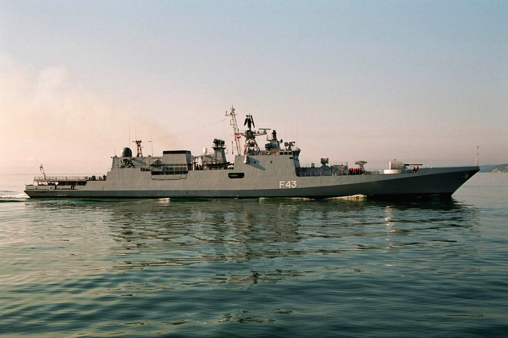 Three Indian warships, INS Mumbai, INS Trishul and INS Aditya, arrived at Jeddah on Tuesday for a three-day visit.