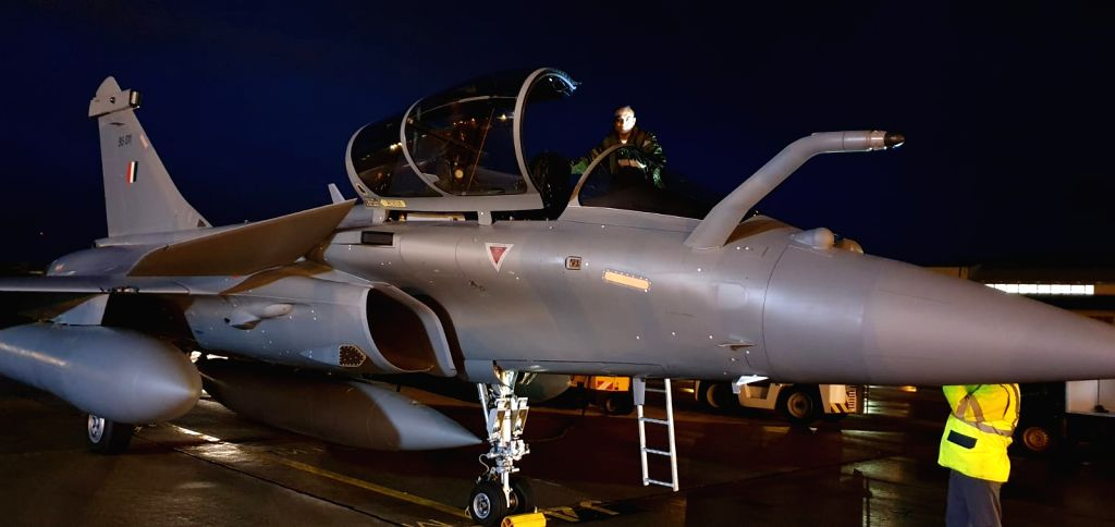Three Rafale combat aircraft will arrive in India on Thursday after flying non-stop from France, an Indian Air Force official said on Wednesday. The three new additions will add to the current fleet ...