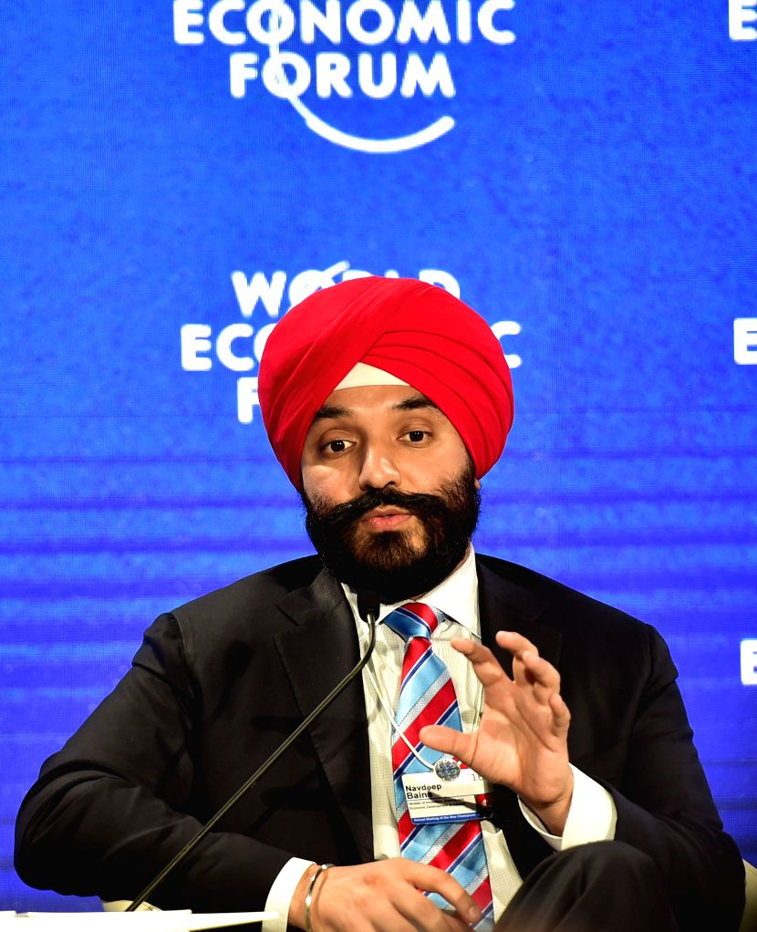 """TIANJIN, June 28, 2016 - Canadian Innovation, Science and Economic Development Minister Navdeep Bains speaks during a session named """"The Impact of the Fourth Industrial Revolution"""" of the ... - Navdeep Bains"""