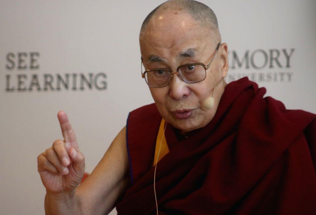 Tibetan spiritual leader the Dalai Lama. (Photo: IANS)