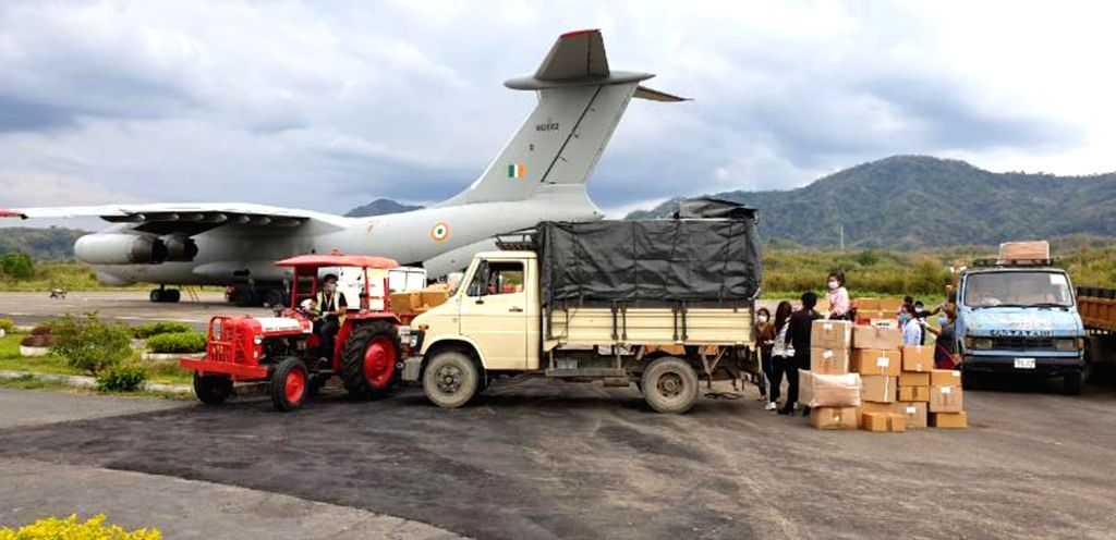 Till date, IAF transported 600 tonnes of medical equipment, support material.